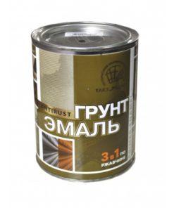 Эмаль-грунт по ржавчине 3в1 РАДУГА