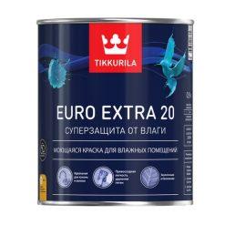 Акриловая краска для ванны Tikkurila Euro Extra 20 Тиккурила Евро Экстра 20