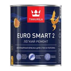 Краска Tikkurila Euro Smart 2 Тиккурила Евро Смарт 2