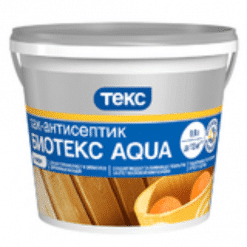 Лак антисептик Биотекс Aqua Профи