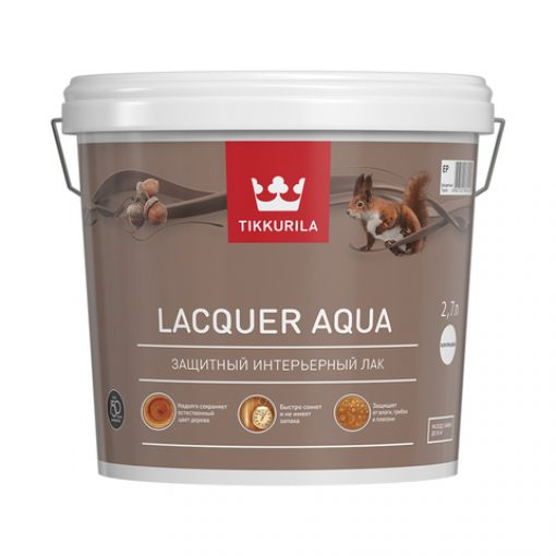 Лак Tikkurila Lacquer Aqua