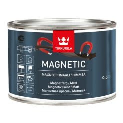 Магнитная краска Tikkurila Magnetic Тиккурила Магнетик