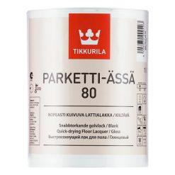 Паркетный лак на водной основе Tikkurila Parketti Assa