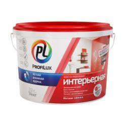 Акриловая краска для стен и потолков Profilux