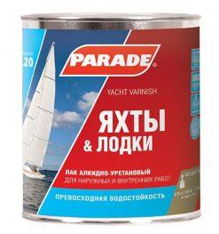 Лак яхтный PARADE L20
