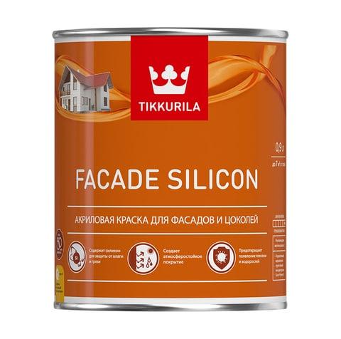 Фасадная краска Тиккурила Фасад Силикон Facade Silicon